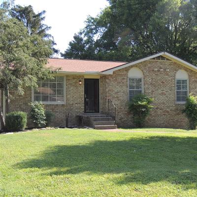 Hendersonville Single Family Home Active Under Contract: 122 Pana Dr