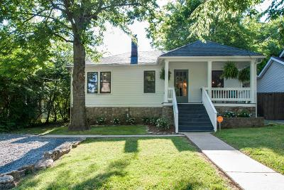 Nashville Single Family Home For Sale: 235 37th Ave N