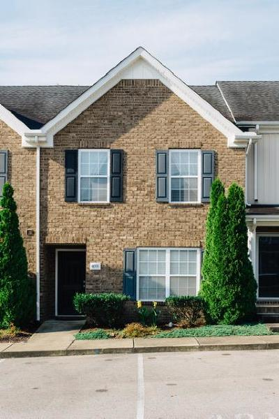 Spring Hill Condo/Townhouse Active Under Contract: 4016 Pavati Trce
