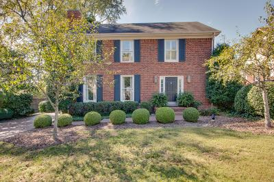 Nashville Single Family Home Active Under Contract: 209 Cherokee Rd