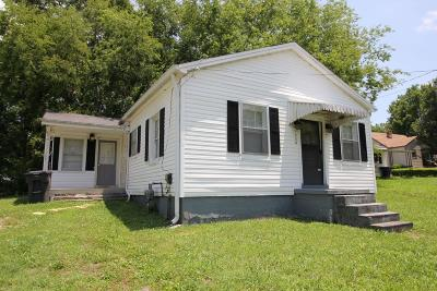 Maury County Single Family Home Active Under Contract: 1112 Morningside Dr