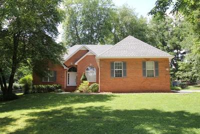 Single Family Home Pending: 585 Doak Rd