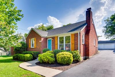 Nashville Single Family Home Active Under Contract: 1436 Greenland Ave