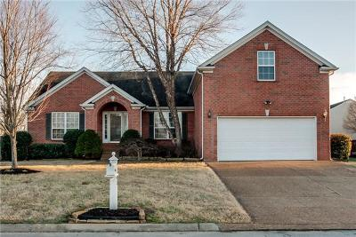 Old Hickory Single Family Home Active Under Contract: 4802 Kensington Dr