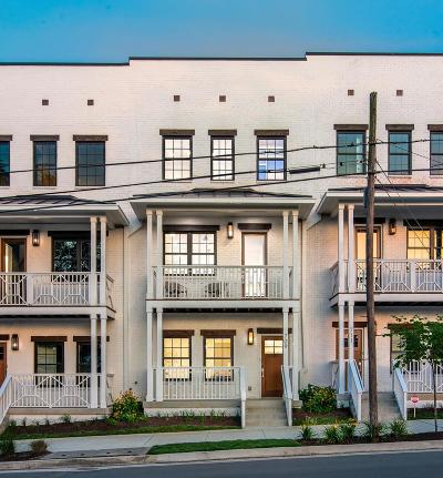 Nashville Condo/Townhouse Active Under Contract: 709 Garfield St