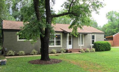 Murfreesboro Single Family Home For Sale: 1802 Atlas St