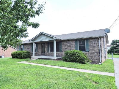 Clarksville Single Family Home Active Under Contract: 702 Buttercup Dr
