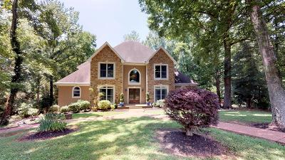 Mount Juliet Single Family Home For Sale: 1108 Willow Brook Pt