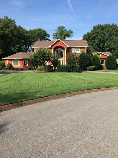 Old Hickory Single Family Home For Sale: 104 Kennett Rd
