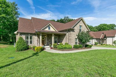 Robertson County Single Family Home Active Under Contract: 1455 Station Dr