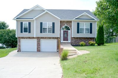 Clarksville Single Family Home Active Under Contract: 3369 Brownsville Rd
