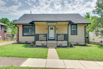 Old Hickory Single Family Home For Sale: 605 Cleves St