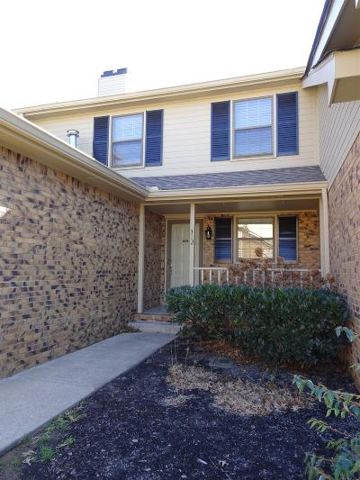 Clarksville Single Family Home Active Under Contract: 312 Kingswood Court