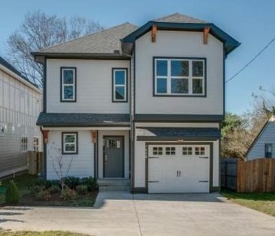 East Nashville Single Family Home Active Under Contract: 709B Skyview Dr