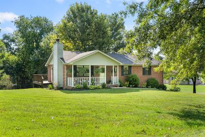 Ashland City Single Family Home For Sale: 1820 Mt Zion Rd