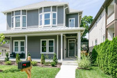 Nashville Single Family Home Active Under Contract: 1825B 5th Avenue North