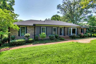 Nashville Single Family Home Active Under Contract: 5620 Highland Way