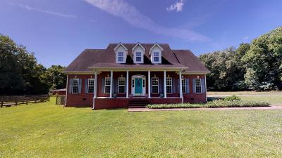 Murfreesboro Single Family Home For Sale: 3125 Thompson Rd