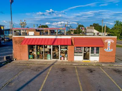 Adams, Clarksville, Springfield, Dover Commercial For Sale: 321 Drinkard Dr
