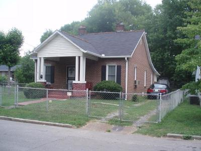 Nashville Single Family Home For Sale: 1918 15th Ave N