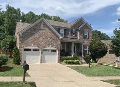 Mount Juliet Single Family Home For Sale: 332 Landings Way