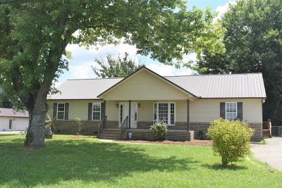 Bradyville Single Family Home Active Under Contract: 9645 Jim Cummings Hwy