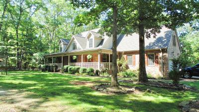 Franklin County Single Family Home For Sale: 821 Deepwoods Rd