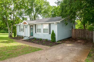 East Nashville Single Family Home Active Under Contract: 2038 Oakwood Ave