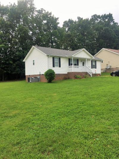 Clarksville Single Family Home Active Under Contract: 365 Lafayette Point Cir