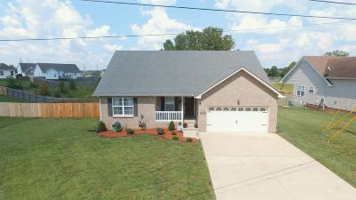 Clarksville Single Family Home Active Under Contract: 3675 Fieldstone Dr