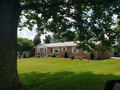 Robertson County Single Family Home Active Under Contract: 3042 New Hall Rd