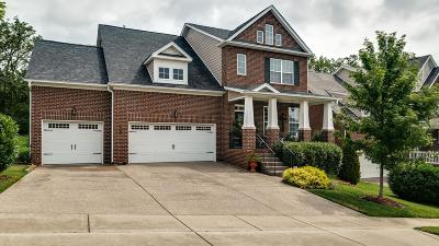 Nolensville Single Family Home Active Under Contract: 4677 Sawmill Pl