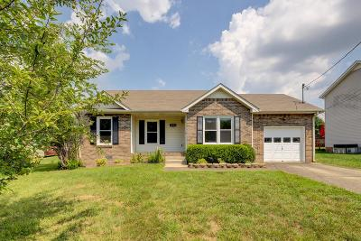 Clarksville Single Family Home Active Under Contract: 1035 Roedeer Dr