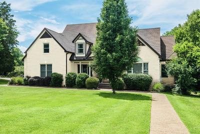 Nashville Single Family Home For Sale: 3427 Trimble Rd