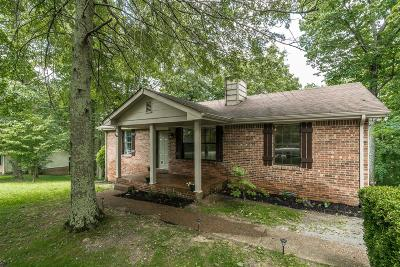 White House Single Family Home Active Under Contract: 1014 Tyree Ct S