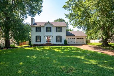 Franklin Single Family Home Active Under Contract: 556 Overview Ln
