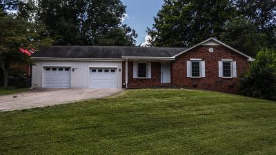 Clarksville TN Single Family Home Active Under Contract: $159,900
