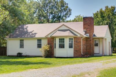 Mount Juliet Single Family Home For Sale: 109 Sunnymeade Dr