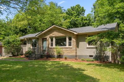East Nashville Single Family Home Active Under Contract: 2407 Sandy Dr