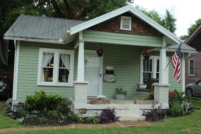 East Nashville Single Family Home Active Under Contract: 1116 N 7th St