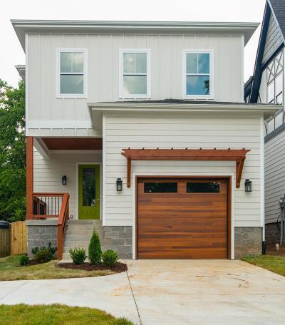 Nashville Single Family Home For Sale: 2230B Carter Ave