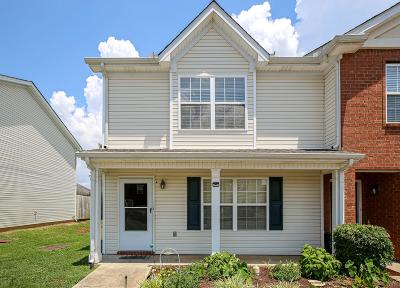 Murfreesboro Condo/Townhouse Active Under Contract: 416 Arapaho Dr