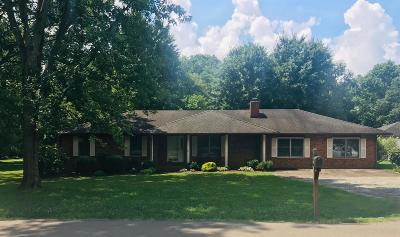 Smyrna Single Family Home Active Under Contract: 103 Foxland Dr