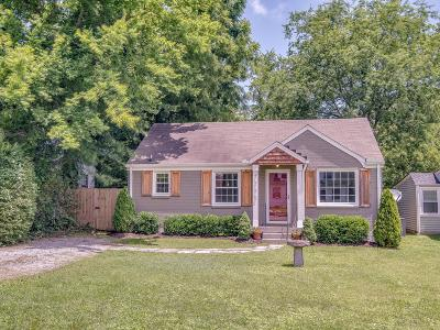 East Nashville Single Family Home Active Under Contract: 1235 Sunnymeade Dr
