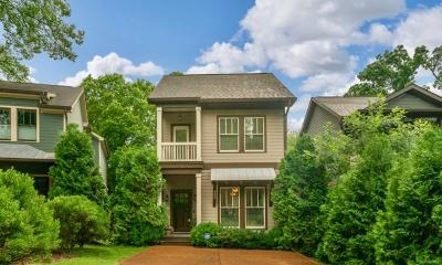 Nashville Single Family Home Active Under Contract: 3433A 33rd Avenue S