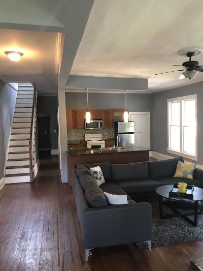 East Nashville Single Family Home For Sale: 322 Vaughn St