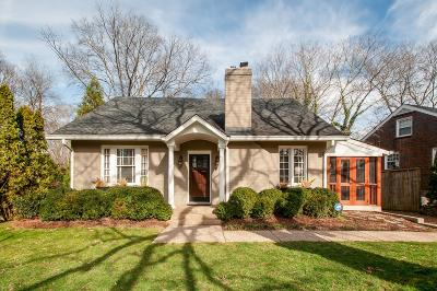 Nashville Single Family Home Active Under Contract: 198 Kenner Ave