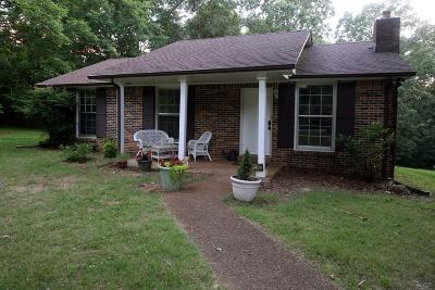 Kingston Springs Single Family Home Active Under Contract: 1075 Patterson Dr
