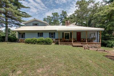 Monteagle Single Family Home For Sale: 314 N Central Ave