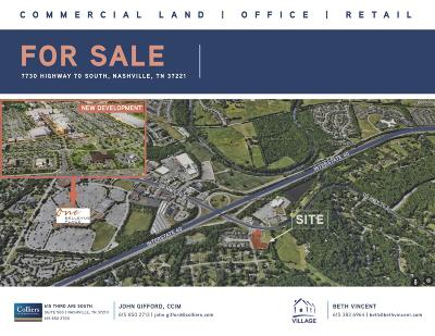 Nashville Residential Lots & Land For Sale: 7730 Hwy 70 South S